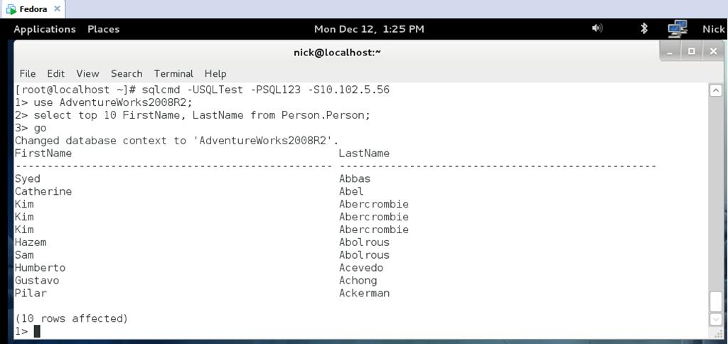 SQL Server ODBC on Linux | Dev Blog